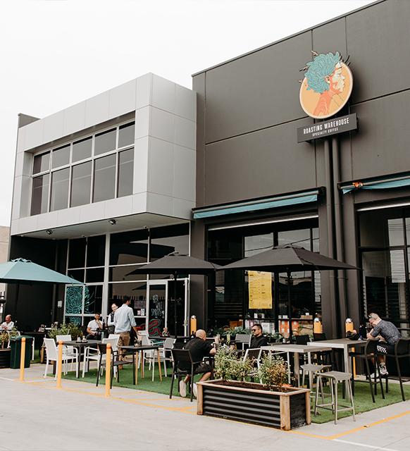 Airport West cafe interor