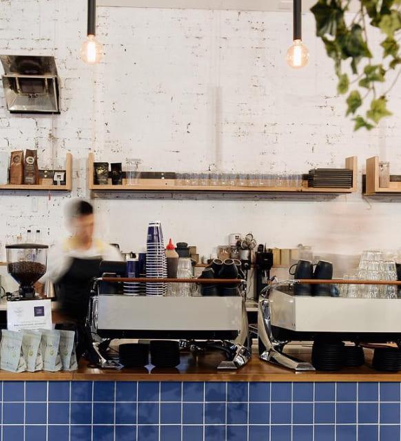 North Melbourne cafe interor